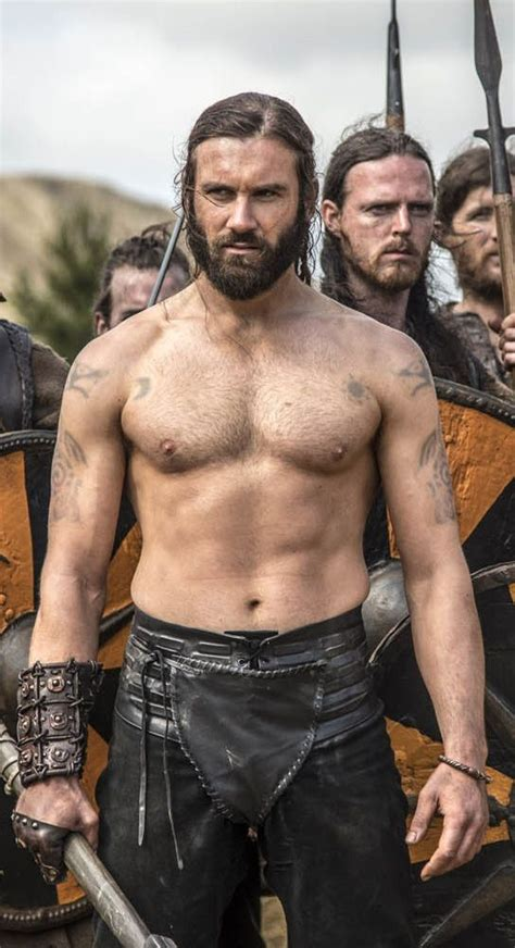 where did they get rollos tattoo from clive standen plays quot rollo quot in vikings on the history