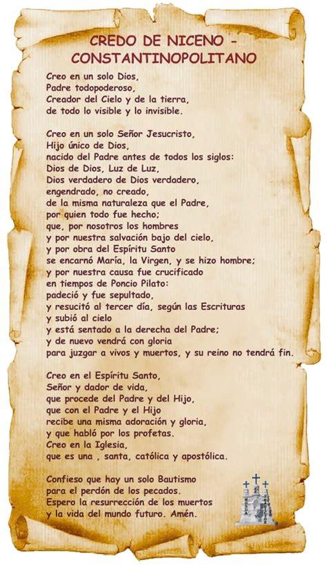 oraciones catolicas para ninos related keywords el credo en espanol related keywords el credo en espanol