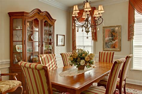 Country French Dining Rooms by French Dining Room With French Country Decor Traditional