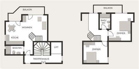 Chalet Floor Plans maisonette duplex appartement hotel mistral saas fee