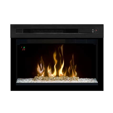 Contemporary Electric Fireplace Dimplex 25 In Multi Xd Curved Contemporary Electric Fireplace Insert Pf2325cg