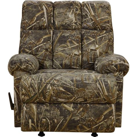 camo recliner chairs rocking chair design camo rocking chair dorel living