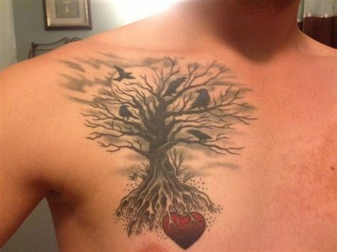 family tree tattoo for men family tree