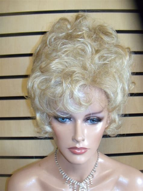 vegas girl wigs natural dainty updo soft pretty curls pick