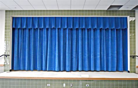 curtains for schools stage curtain fabric best home design 2018