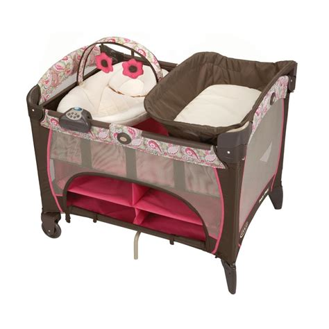 graco pack n play playard with newborn napper