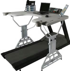 Small Treadmill For Desk Now That S A Work Out The Treadmill Desk That Allows You To Exercise At Your Computer And
