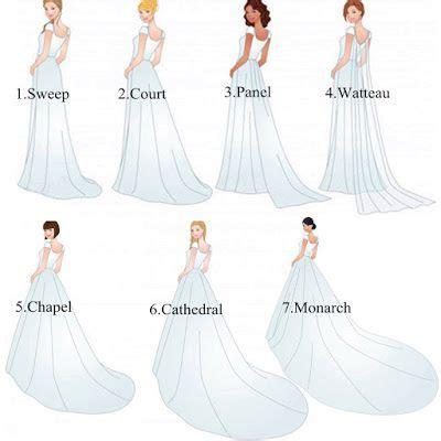 Wedding Dresses By Type by 7 Types Of Wedding Trains Wedding Wedding