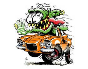 Room Over Garage Design Ideas monster hot rod art google search dap of ratfink