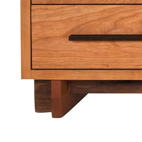 10 drawer dresser modern modern 10 drawer dresser in solid hardwood with natural