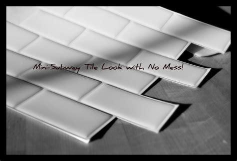 peel and stick subway tile peel stick subway tile backsplash in the kitchen
