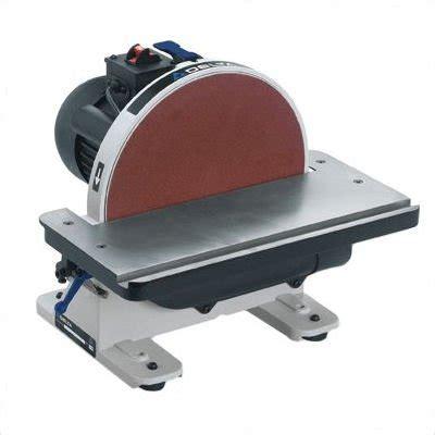 delta bench sander delta 31 695 6 inch 9 inch 1hp open stand belt disc sander