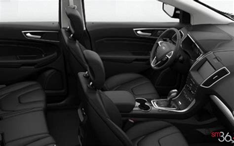 Interior Accessories You Got A Suave Attitude by 2016 Ford Edge Titanium Alliance Autogroupe In Montreal