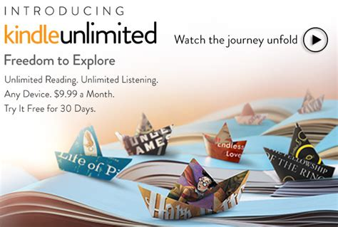 how to get kindle unlimited membership books officially announces kindle unlimited e book and