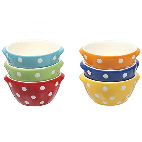 Small Polka Dot Bowl Set
