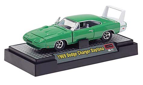 green daytona charger dodge charger daytona green white 1969 mcw diecast model