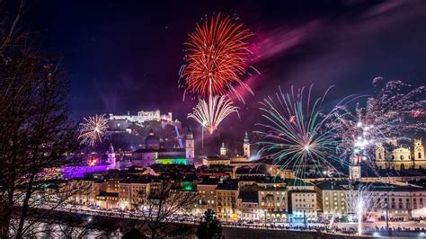 new year new year s eve in salzburg austria holiday
