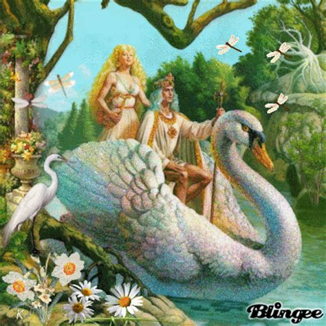 swan boats gif fantasy swan boat picture 110502772 blingee