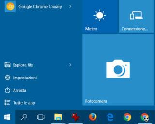 app fotocamera in windows 10 per fare foto con la webcam e