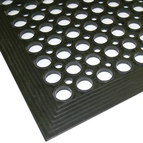 anti fatigue 0 9m x 1 5m rubber safety mat