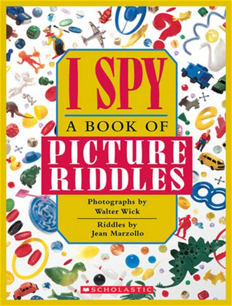 i a books i a book of picture riddles by jean marzollo