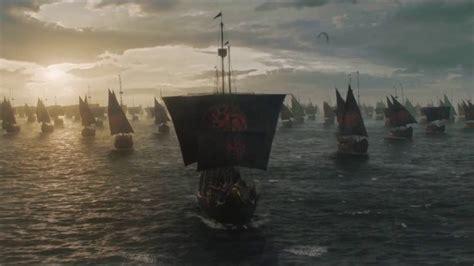game of thrones boat scene game of thrones 6x10 final scene daenerys targaryen