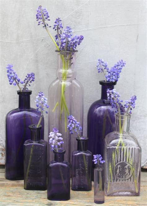decorating  glass bottles ideas inspiration