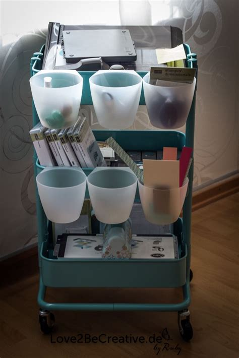 ikea craft cart 146 best images about craft organization for raskog on
