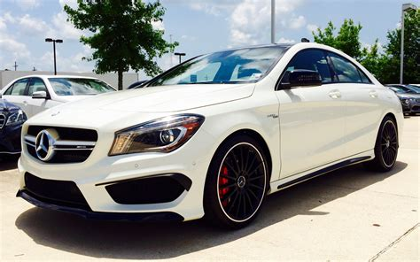 mercedes in 2015 mercedes class 45 amg review