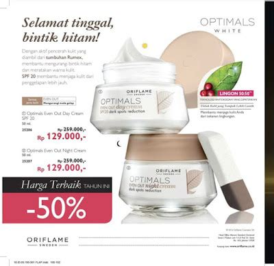 Optimals Even Out Set Meratakan Warna Kulit ida yunisthya pin 54690a5e