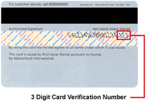 Credit Card Form Validation Card Validation Number