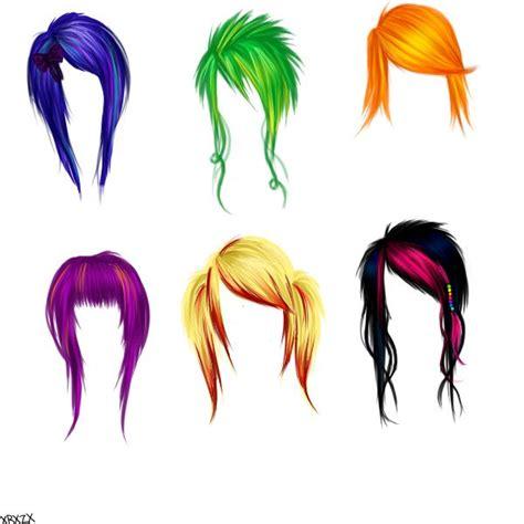 girl hairstyles deviantart anime and manga hairstyles by xrainbowxzebrax on