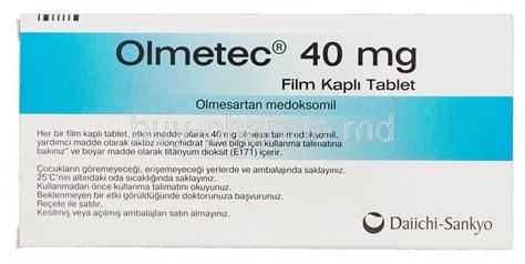 Olmetec 40 Mg 30 Tablet Olmesartan olmesartan medoxomil buy olmesartan medoxomil