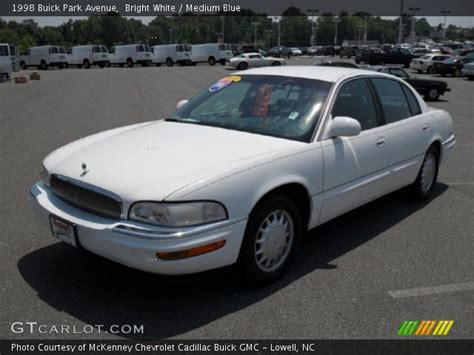 bright white 1998 buick park avenue medium blue