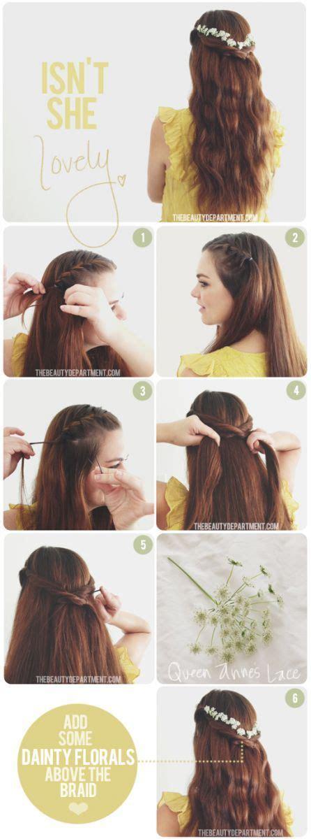 school hairstyles diy back to school hairstyles voor half lang haar girlscene