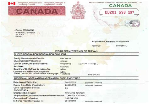 Documents Needed To Work In Canada