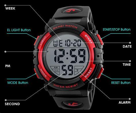 Jam Tangan Pria Sporty Waterproof Dziner 8179 skmei jam tangan sporty pria dg1258 black gold jakartanotebook