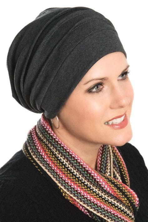 knit hats for chemo patients slouchy cotton knit snood cap for cancer chemotherapy