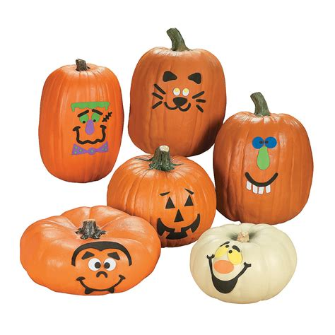 pumpkin decorating kit 6 pcs trading
