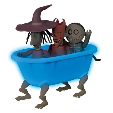 nightmare before christmas bathtub more nightmare before christmas kubricks revealed the