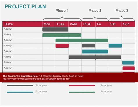 Project Plan Powerpoint Template Powerpoint Slideshow View Project Plan Template Powerpoint