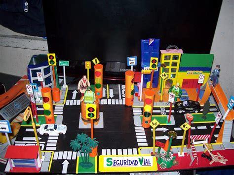 proyecto educacion vial 3 grado feria de ciencia raquelita rojas maqueta por la semana de la educacion vial