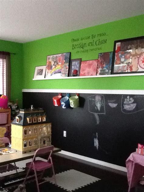 playroom  chalkboard paint wall chalkboard wall