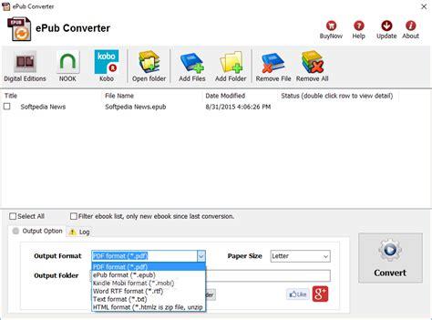 ebook format converter linux epub converter download