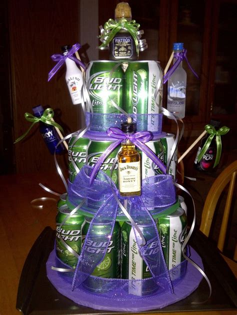 budweiser beer cake bud light lime gift baskets gift ftempo