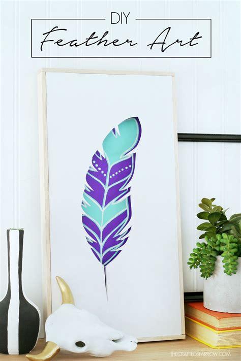Diy Painting 1 diy feather