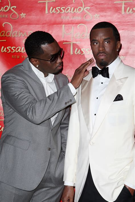 p figure diddy gets waxed in times square rap radar