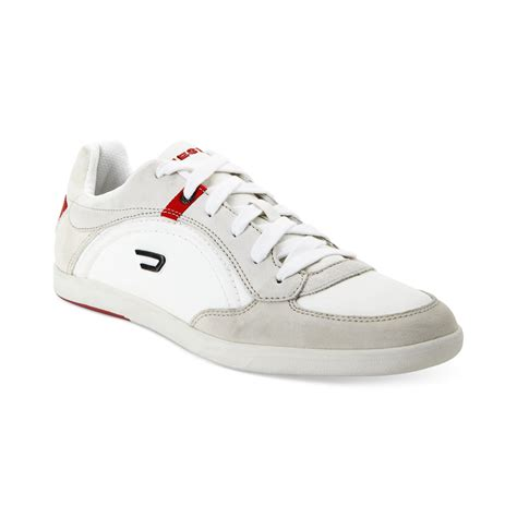 diesel eastcop starch sneakers in white for lyst