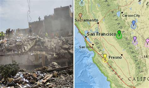 earthquake california california earthquake triggers fears over big one in san