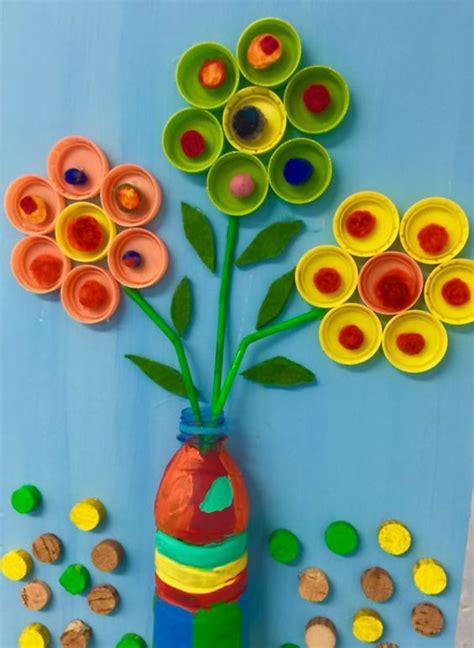 fiori con bicchieri di plastica meravigliose creazioni riciclando bottiglie di plastica